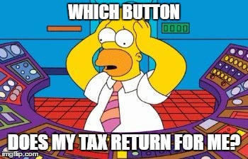 homer simpson nuclear control desk Which Button Does my Tax return for me?