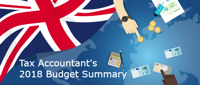 ax Accountants 2018 Budget Summary