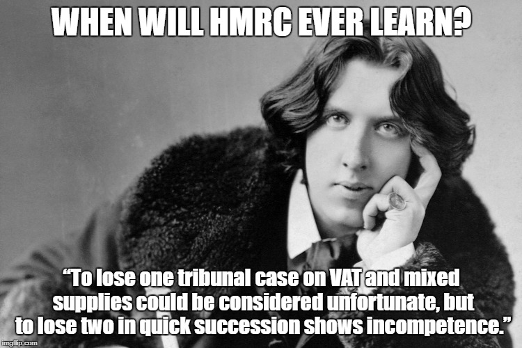 Oscar Wilde Quote Mixed Rate VAT
