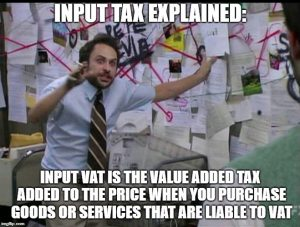 Imput Tax Explained