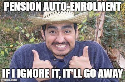 Pension Auto-enrolment Gringo