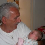 David Jones Shrewsbury Accountant with his granddaughter