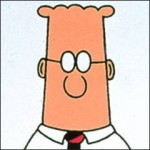 dilbert represents the facelessbureaucracy