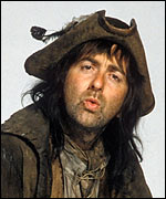 Baldrick from Blackadder III to symbolises how silly HMRC using an offshore company