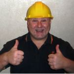 builder with thumbs up