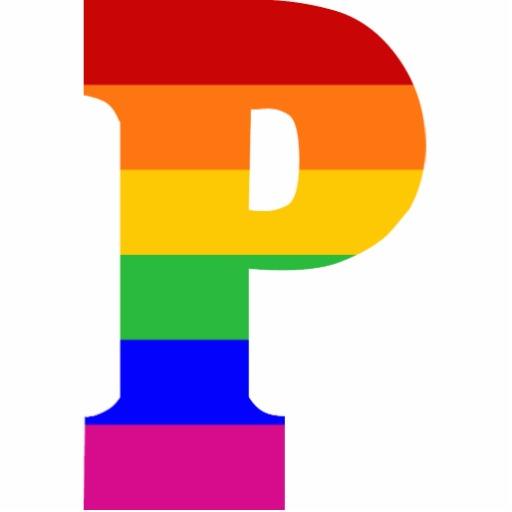 Rainbow Letter P Morgan Jones Amp Company Accountants