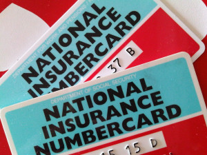 two National Insurance Cards