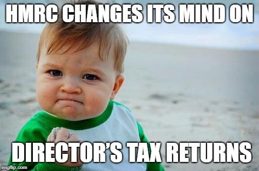 Director Tax Return Success boy meme