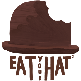 Eat your hat organicic chocolate logo