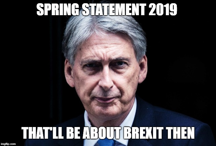 Spring Statement 2019 Philip Hammond Brexit
