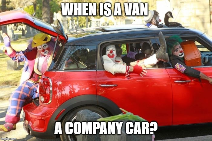 Benefit In Kind: When is a van a company car?
