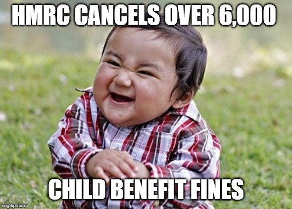HMRC fails to claw back child benefit