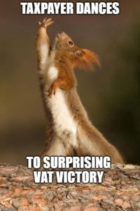 Squirrel dancing First Tier VAT Tribunal Victory