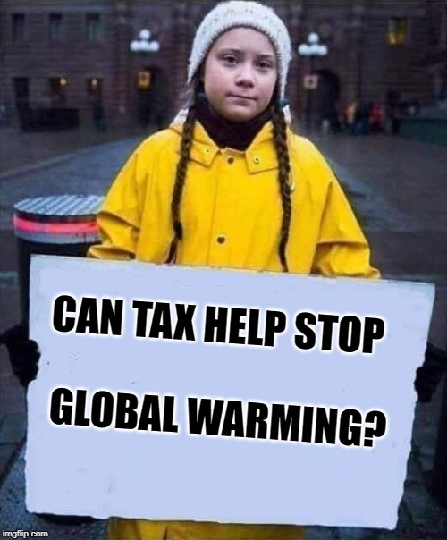 Can tax help stop global warming?