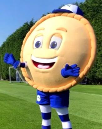 Wigan Athletic Pie Mascot