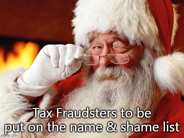 HMRC to name and shame in an anti-fraud move