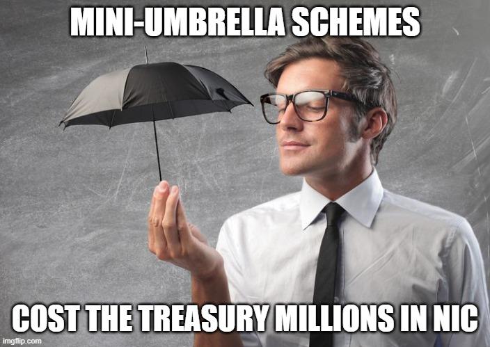 Mini-umbrella schemes cost the treasury millions in NIC