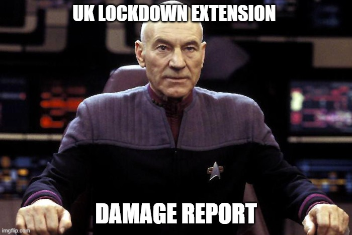 UK lockdown extension will damage many businesses