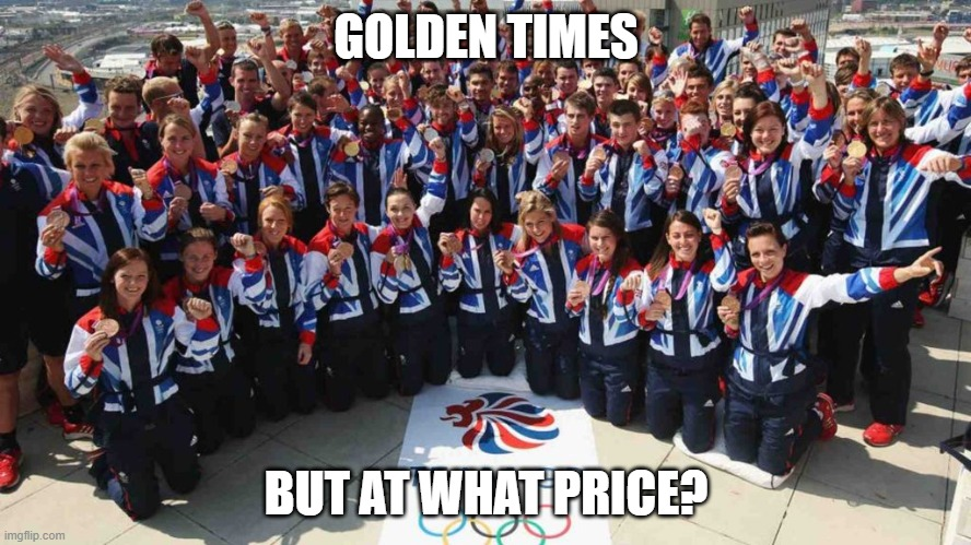 The true cost of the Olympics to GB plc