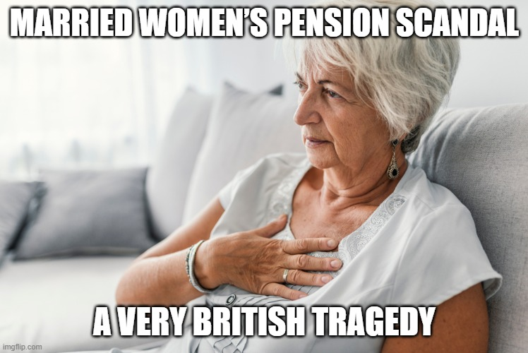 Married Women's Pension Scandal