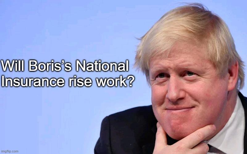 Will Boris's National Insurance rise work?